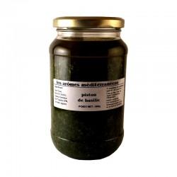 Pistou de basilic à la génovese 500 g Les arômes méditerranéens Epicerie fine Condiments, sauces et apéros
