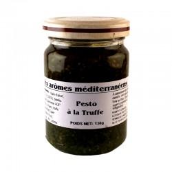 Pesto à la truffe 130 g Les arômes méditerranéens Epicerie fine Condiments, sauces et apéros