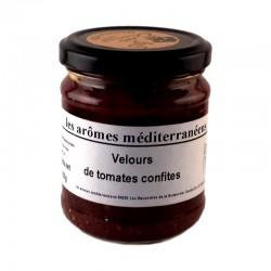 Velours de tomates confites 185 g Les arômes méditerranéens Epicerie fine, condiments, sauces et apéros