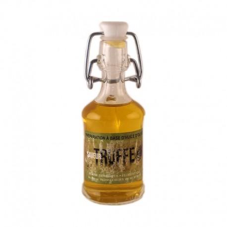 Huile aromatisée à la truffe 4 cl Les arômes méditerranéens épicerie fine. Condiments, sauces et apéros