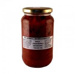 Sauce bruschetta savoureuse 500 g Les arômes méditerranéens Epicerie fine, condiments, sauces et apéros