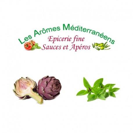 Velours d'artichauts et poivrons rouges 1000 g Les arômes méditerranéens Epicerie fine, condiments, sauces et apéros