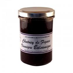 Chutney de figues au vinaigre balsamique 220 g Les arômes méditerranéens Epicerie fine, condiments, sauces et apéros