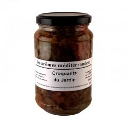 Croquants du jardin 330 g Les arômes méditerranéens Epicerie fine condiments, sauces et apéros