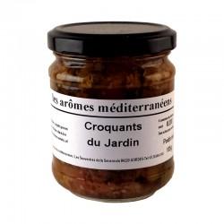 Croquants du jardin 185 g Les arômes méditerranéens épicerie fine. Condiments, sauces et apéros