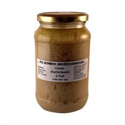 Crème d'artichaut à l'ail 500 g Les arômes méditerranéens épicerie fine. Condiments, sauces et apéros