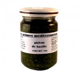 Pistou de basilic à la génovese Les arômes méditerranéens Epicerie fine Condiments, sauces et apéros