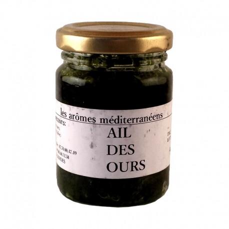 Ail des ours 80 g Les arômes méditerranéens épicerie fine. Condiments, sauces et apéros